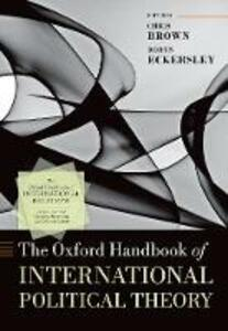 The Oxford Handbook of International Political Theory - cover