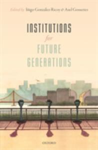 Institutions For Future Generations - cover