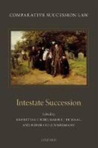 Comparative Succession Law: Volume II: Intestate Succession - cover