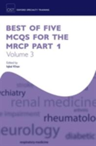 Best of Five MCQs for the MRCP Part 1 Volume 3 - cover