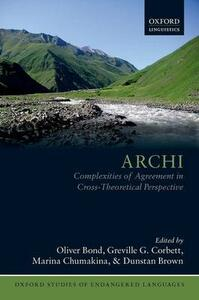 Archi: Complexities of Agreement in Cross-Theoretical Perspective - cover