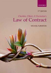 Cheshire, Fifoot, and Furmston's Law of Contract - M. P. Furmston - cover