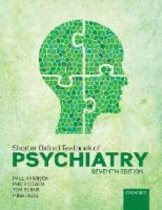 Shorter Oxford Textbook of Psychiatry - Paul Harrison,Philip Cowen,Tom Burns - cover