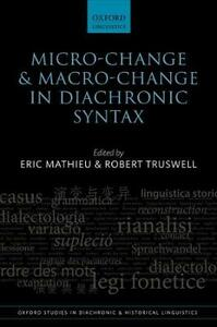 Micro-change and Macro-change in Diachronic Syntax - cover