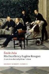 His Excellency Eugene Rougon - Emile Zola - cover