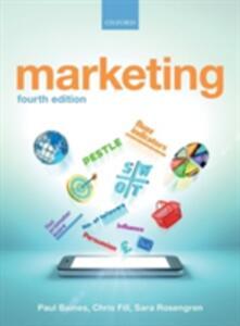Marketing - Paul Baines,Chris Fill,Sara Rosengren - cover
