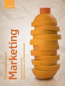 Fundamentals of Marketing - Paul Baines,Chris Fill,Sara Rosengren - cover