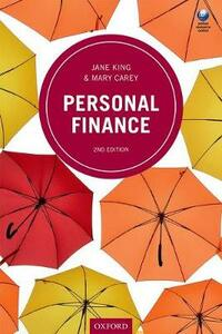 Personal Finance - Jane King,Mary Carey - cover