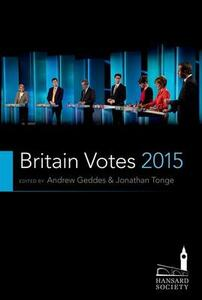 Britain Votes 2015 - Andrew Geddes - cover