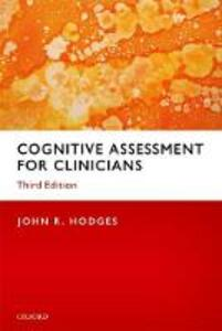 Cognitive Assessment for Clinicians - John R. Hodges - cover