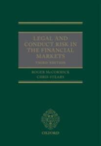 Legal and Conduct Risk in the Financial Markets - Roger McCormick,Chris Stears - cover