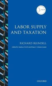 Labor Supply and Taxation - Richard Blundell - cover