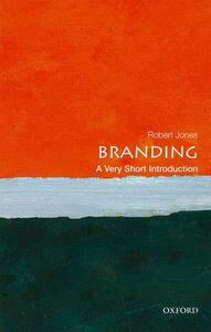 Branding: A Very Short Introduction - Robert Jones - cover