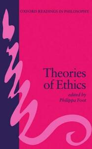 Theories of Ethics - cover