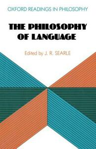 The Philosophy of Language - cover