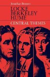 Locke, Berkeley, Hume; Central Themes - Jonathan Bennett - cover