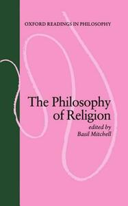 The Philosophy of Religion - cover