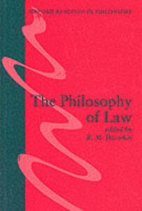 The Philosophy of Law - cover