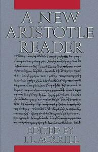 A New Aristotle Reader - cover