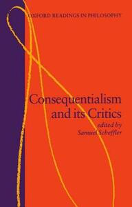 Consequentialism and its Critics - cover