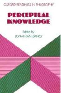 Perceptual Knowledge - cover