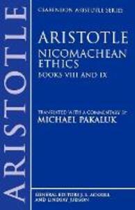Aristotle: Nicomachean Ethics, Books VIII and IX - Aristotle - cover