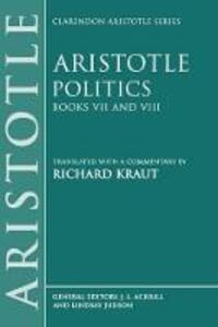 Politics: Books VII and VIII - Aristotle - cover