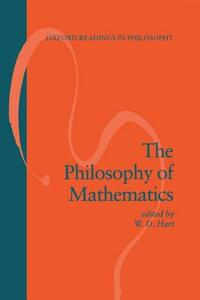 The Philosophy of Mathematics - cover