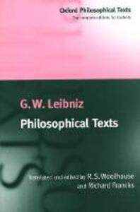 Philosophical Texts - G. W. Leibniz - cover
