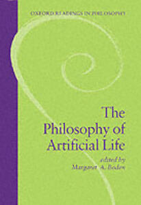 The Philosophy of Artificial Life - cover