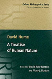 A Treatise of Human Nature: Being an Attempt to Introduce the Experimental Method of Reasoning into Moral Subjects - David Hume - cover