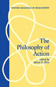 The Philosophy of Action - cover