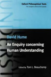 An Enquiry concerning Human Understanding - David Hume - cover