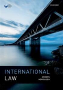 International Law - Anders Henriksen - cover