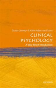 Clinical Psychology: A Very Short Introduction - Susan Llewelyn - cover