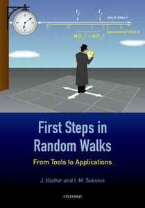 First Steps in Random Walks: From Tools to Applications - Joseph Klafter,I. M. Sokolov - cover
