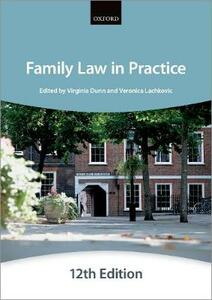 Family Law in Practice - The City Law School - cover