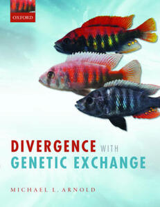 Divergence with Genetic Exchange - Michael L. Arnold - cover