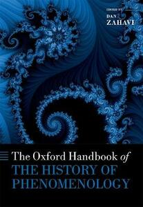 The Oxford Handbook of the History of Phenomenology - cover