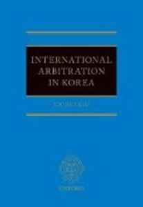 International Arbitration in Korea - Joongi Kim - cover