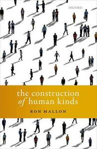 The Construction of Human Kinds - Ron Mallon - cover