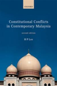 Constitutional Conflicts in Contemporary Malaysia - H. P. Lee - cover