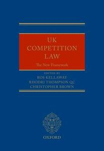 UK Competition Law: The New Framework - cover