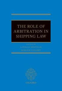 The Role of Arbitration in Shipping Law - cover