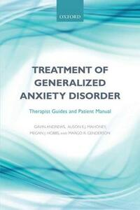Treatment of generalized anxiety disorder: Therapist guides and patient manual - cover