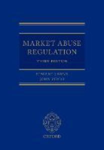 Market Abuse Regulation - Edward J. Swan,John Virgo - cover