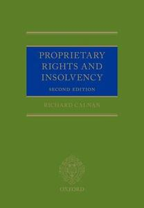 Proprietary Rights and Insolvency - Richard Calnan - cover