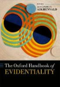 The Oxford Handbook of Evidentiality - cover