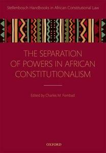 Separation of Powers in African Constitutionalism - cover