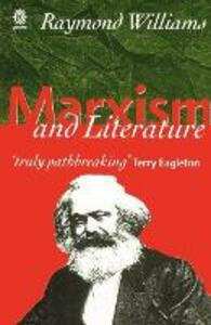 Marxism and Literature - Raymond Williams - cover
